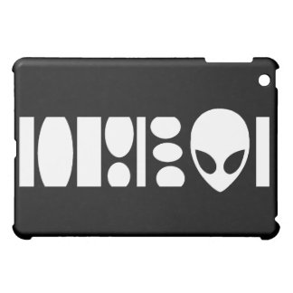 mini caso del iPad extranjero del código de barras