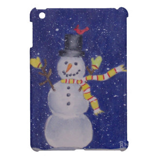 Mini caso del iPad feliz de la nieve