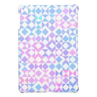 Mini caso del iPad geométrico bonito vibrante del