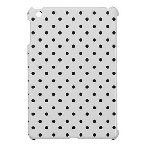 Mini caso del iPad gris de los lunares iPad Mini Protector