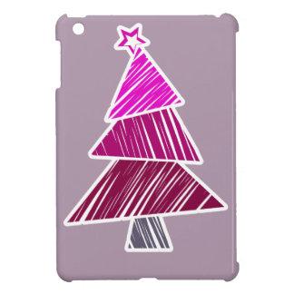 Mini caso del iPad incompleto rosado del árbol de  iPad Mini Fundas