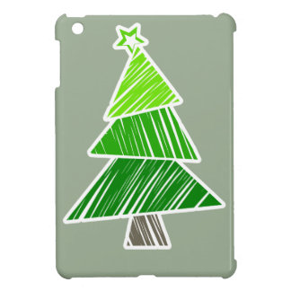 Mini caso del iPad incompleto verde del árbol de n iPad Mini Carcasa