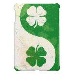 Mini caso del iPad irlandés del trébol Yin y de Ya iPad Mini Protector