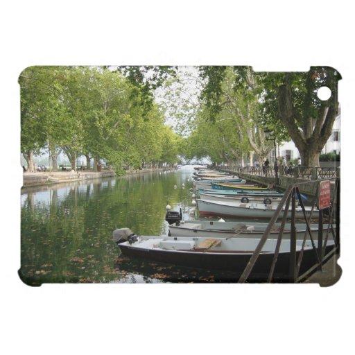 mini caso del iPad: Lago Annecy Francia canal de l iPad Mini Protector