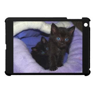 Mini caso del iPad lindo de los gatitos