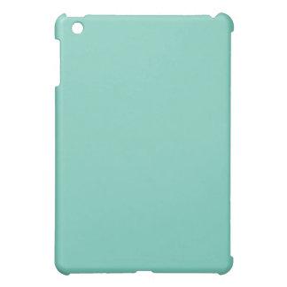 Mini caso del iPad llano de la turquesa