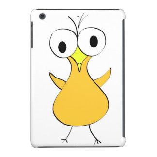 Mini caso del iPad loco del pollo Funda Para iPad Mini Retina