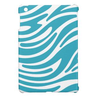 Mini caso del iPad moderno del estampado de zebra  iPad Mini Carcasas