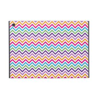 Mini caso del iPad multicolor brillante de Chevron iPad Mini Fundas