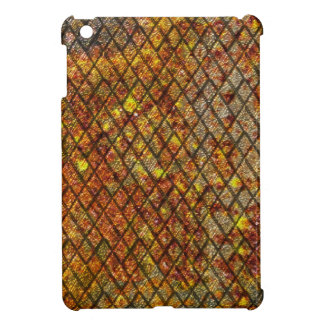 Mini caso del iPad oxidado del metal