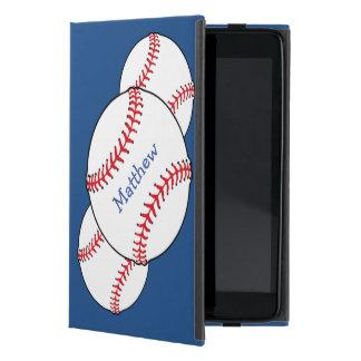 Mini caso del iPad patriótico del béisbol iPad Mini Carcasa