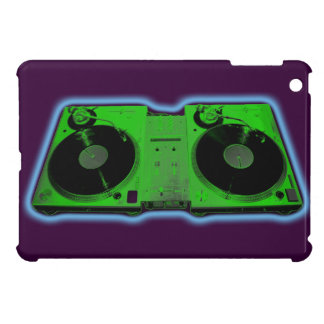mini caso del iPad - placa giratoria de DJ