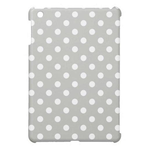Mini caso del iPad protector - lunar de los gris
