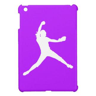 Mini caso del iPad púrpura de Fastpitch