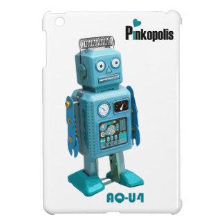 Mini caso del iPad retro del robot AQ-U4 iPad Mini Fundas