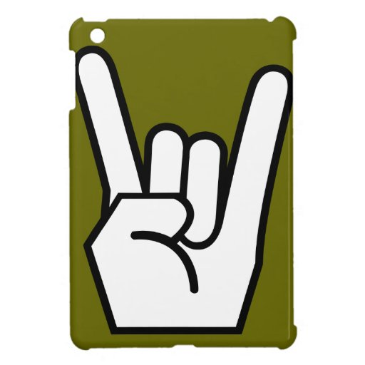 mini caso del ipad, rock-and-roll, ejército iPad mini cárcasa