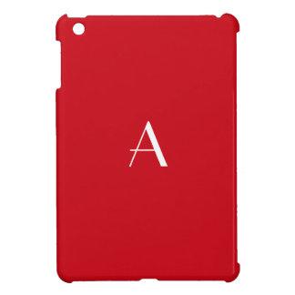 Mini caso del iPad rojo bermellón iPad Mini Protector