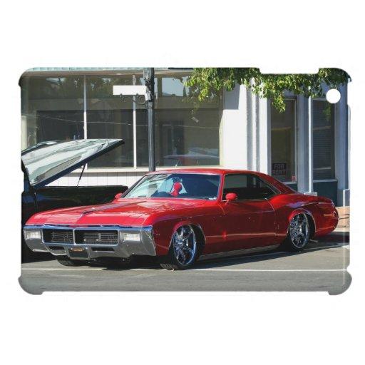 Mini caso del ipad rojo clásico del coche iPad mini carcasa
