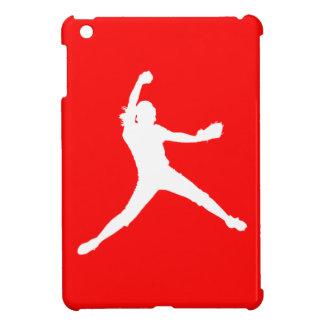 Mini caso del iPad rojo de Fastpitch