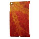 Mini caso del iPad rojo de la hoja de arce iPad Mini Protector
