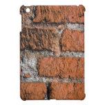 Mini caso del iPad rojo de la pared de ladrillo iPad Mini Protector