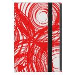 Mini caso del iPad rojo del giro con Kickstand iPad Mini Protector