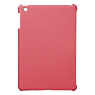 Mini caso del iPad rojo llano