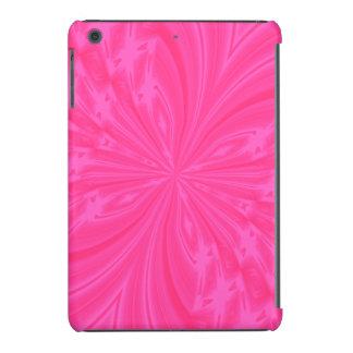 MINI CASO del iPAD rosado brillante abstracto de Fundas De iPad Mini Retina