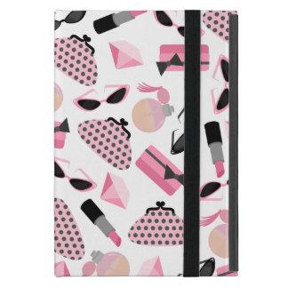 Mini caso del iPad rosado de los accesorios con Ki iPad Mini Fundas