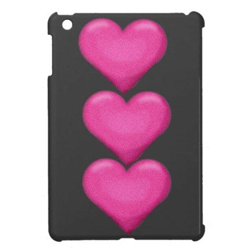 Mini caso del ipad rosado del ciervo iPad mini cárcasas