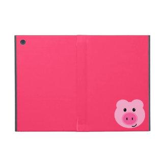 Mini caso del iPad rosado lindo del cerdo iPad Mini Coberturas