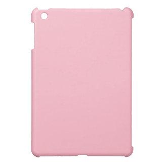 Mini caso del iPad rosado llano