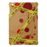 Mini caso del iPad sangriento de la escena del cri