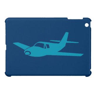 Mini caso del ipad simple azul del aeroplano iPad mini cobertura