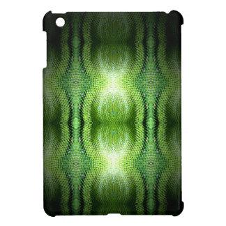 mini caso del iPad - Snakeskin verde oscuro