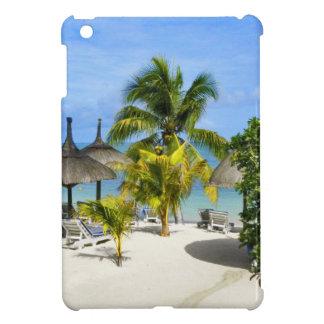 Mini caso del iPad tropical exótico de la playa iPad Mini Protectores