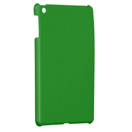 Mini caso del ipad verde