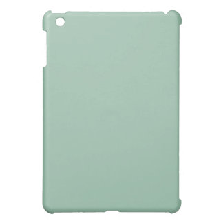Mini caso del iPad verde claro llano