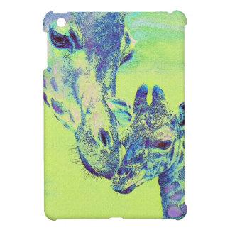 mini caso del ipad verde de las jirafas iPad mini carcasas