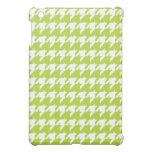 Mini caso del iPad verde del houndstooth iPad Mini Cobertura