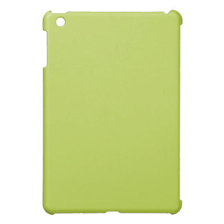Mini caso del iPad verde llano