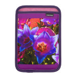 Mini caso del iPad vertical floral de la fantasía Fundas De iPad Mini