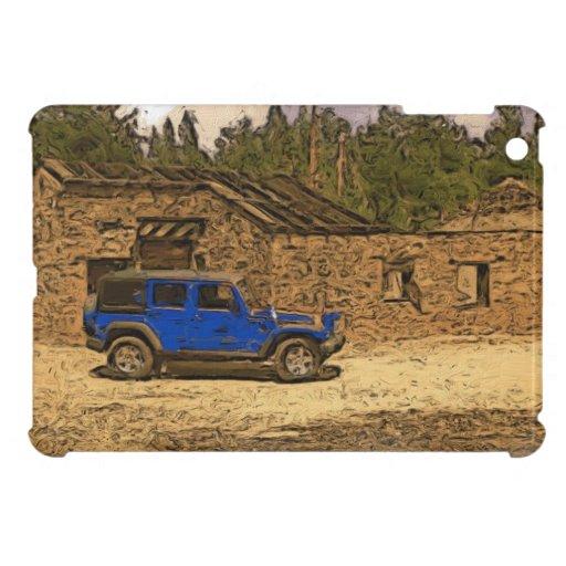 Mini caso del jeep de Wrangler del viejo de las mi