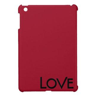 Mini caso del lustre del amor del iPad brillante