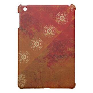 mini caso del modelo del iPad anaranjado de la man