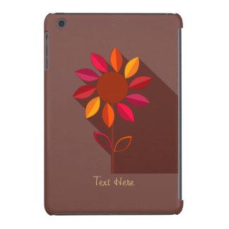 Mini caso del otoño de la flor del ipad abstracto funda de iPad mini