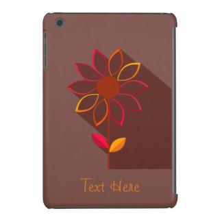 Mini caso del otoño de la flor del ipad abstracto fundas de iPad mini retina