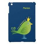 Mini caso del pequeño iPad de príncipe Green Bird iPad Mini Cárcasa