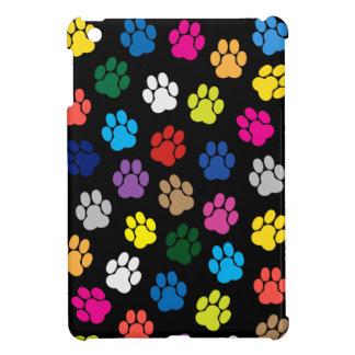 Mini caso del perro del iPad colorido de las patas