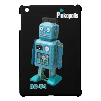 Mini caso del robot AQ-U4 @ del iPad retro de la n iPad Mini Carcasa